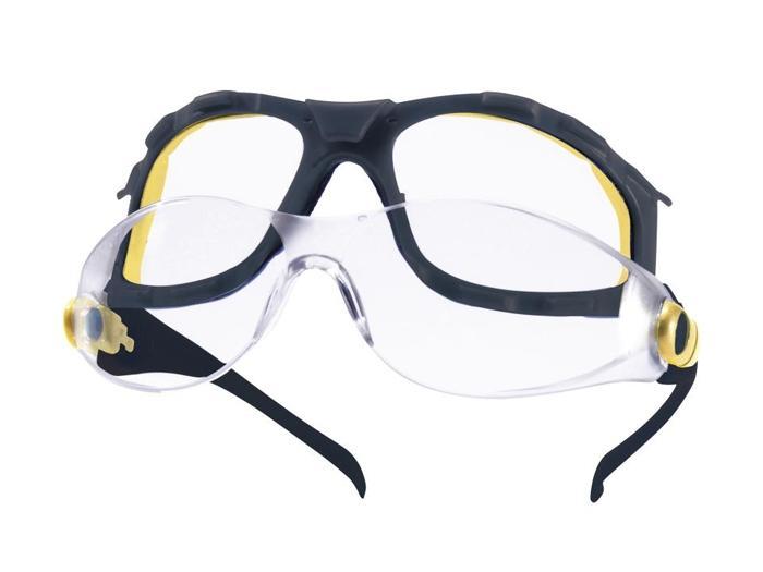 lunette de protection pacaya monobloc polycarbonate avec bandeau lastique protection hygi ne. Black Bedroom Furniture Sets. Home Design Ideas