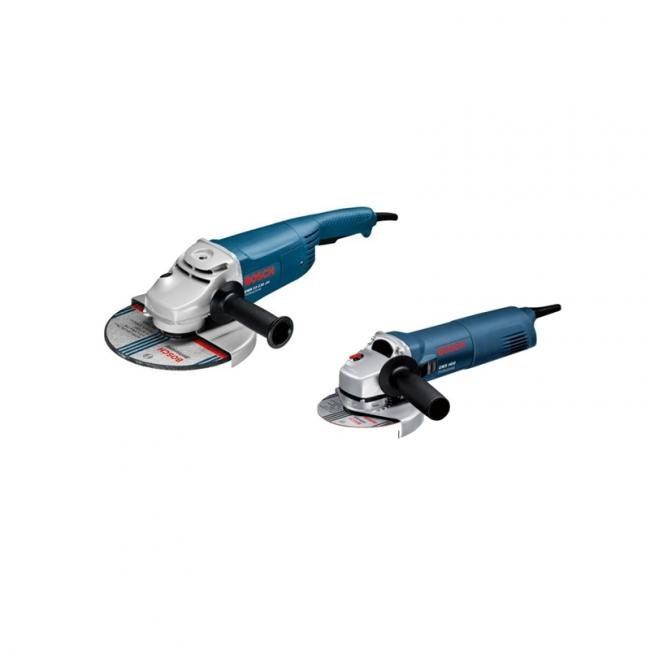 6937df13a451df Pack de 2 meuleuses d angle GWS 22-230H + GWS 1400 Bosch 0615990EJ0 ...