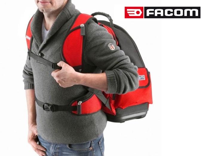 sac dos textile organizer bs l30pb facom fournitures industrielles. Black Bedroom Furniture Sets. Home Design Ideas