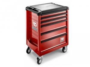servante roll m3 6 tiroirs rouge roll 6m3pb facom. Black Bedroom Furniture Sets. Home Design Ideas